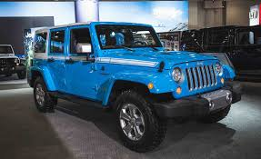 the jeep wrangler chief limited edition is a thing news car
