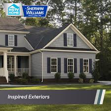 inspired exteriors color collections hgtv home by sherwin williams