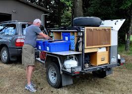 ed and lorraine s gear hauler trailer camp trailersbox trailersmall cargo trailersdiy
