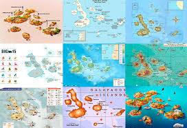 islands map 14 maps designs of the galapagos islands you must see