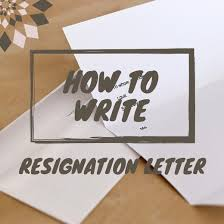 how to write a resignation letter sample letters and tips hubpages