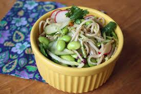 Cold Dinner Fresh Recipes Cold Soba Noodle Salad A Slo Life