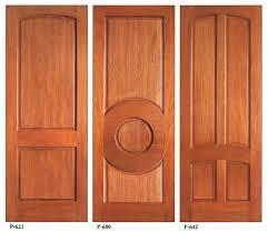 doors wood 36 in x 80 in rustic mahogany type stained wooden door sok p google