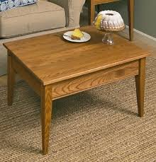 golden oak end tables shaker coffee table solid wood shaker tables manchesterwood com