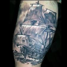 men bicep tattoos ship tattoos pinterest bicep tattoo