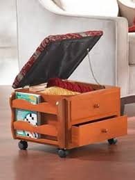 Rolling Storage Ottoman Null 15 74 In W X 15 74 In H Gray Folding Ottoman With 2 Drawers