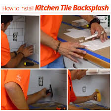 installing tile backsplash kitchen how to install tile backsplash u2014 decor trends how to install a