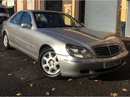 mercedes benz s class 2002 3 2 s320 cdi saloon 4 door diesel