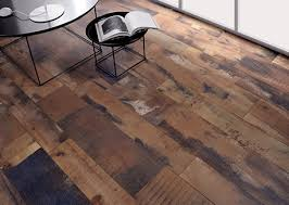 comfy and ceiling tiles that look like wood planks floor