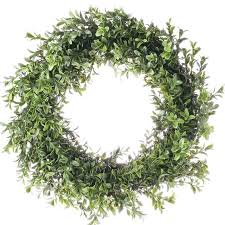 artificial boxwood wreath wreaths floral supplies craft supplies