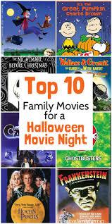 Top 10 Halloween Movies For Family Movie Night Creative Family Fun