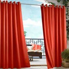 Orange Panel Curtains Orange Curtains Drapes And Valances Ebay