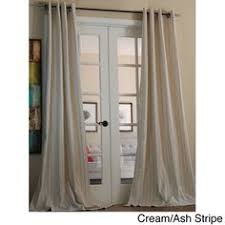 Overstock Kitchen Curtains by For Dining Room Pepper Grey Heavy Faux Linen Curtain Panel