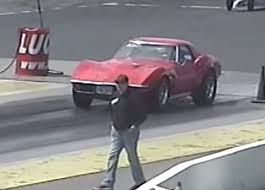 c3 corvette drag car factory appearing 71 1971 c3 corvette drag racing runs 9s