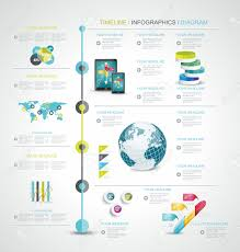World Map Timeline by Timeline Design Template With World Map Web Buttons And Paper