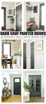 what color to paint interior doors the power of paint dark painted interior french doors painting