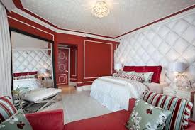 romantic and white home decor for simple bedroom red white bedroom