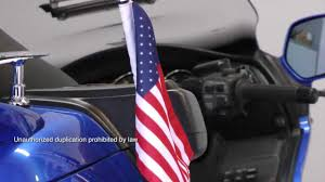 Car Antenna Flags American Motorcycle Accessories U2014 Antenna Flagpole Youtube