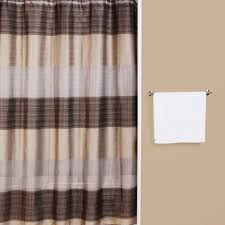 Brown Waffle Weave Shower Curtain by Famed Interdesign Ombre Shower Curtain Blue For Green Shower With