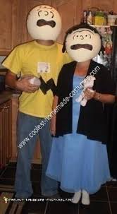 Charlie Brown Costume Charlie Brown And Lucy Halloween Costumes Halloween Costumes