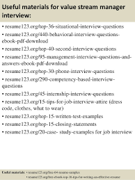 Value Statement Examples For Resumes by Top 8 Value Stream Manager Resume Samples
