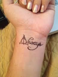 harry potter tattoo by la sirena on deviantart