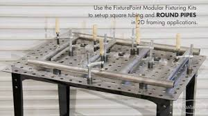 Welding Table Plans by Fixture Table Great For Precision Fabrication U0026 Welding