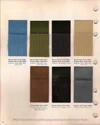 the 1970 hamtramck registry 1971 dodge color u0026 trim book charger
