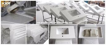 Custom Quartz Vanity Tops Bathroom Custom Quartz Vanity Tops With Ceramic Sink Buy Quartz