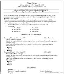 free executive resume templates resume template and professional