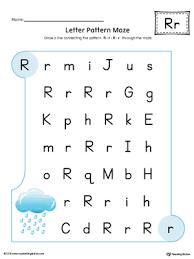 alphabet letter hunt letter r worksheet color