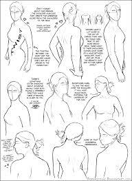 over the shoulder female tutorial by dersketchie on deviantart
