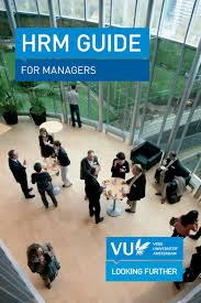 hrm guide for managers by vrije universiteit amsterdam issuu