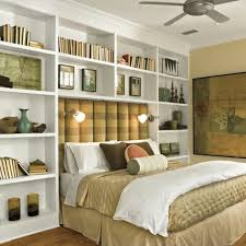 Beds With Bookshelves Storage Ideas Around The Headboard With Custom Shelves Ideas For