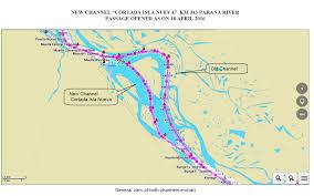 Parana River Map The Swedish Club International Marine Insurance News Circulars
