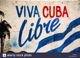 Cuban Flag Meaning Viva Cuba Libre Stock Photo Royalty Free Image 310607495 Alamy