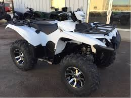 2018 yamaha kodiak 450 eps armor grey w aluminum wheels for sale