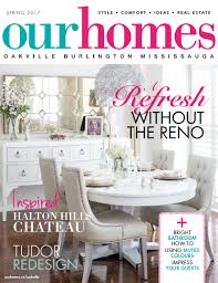 home decor stores oakville on stands our homes oakville spring 2017 our homes magazine