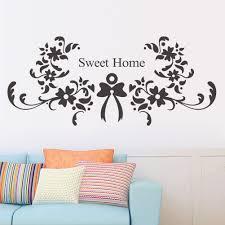 online get cheap christmas flower wallpaper aliexpress com christmas decoration flower sweet home wall sticker quote wall stickers home decor vinyl wallpaper china