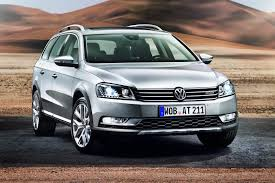 stanced volkswagen passat vw passat goes off road with alltrack version will debut at the