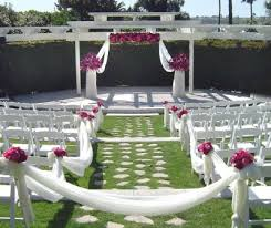 Garden Wedding Ceremony Ideas Outdoor Garden Wedding Ceremony Decorations Ideas 8 Trendy