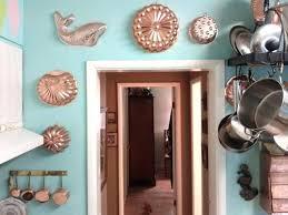 home decorating jobs copper kitchen wall decor copper jello molds retro home interior