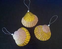 seashell ornaments etsy