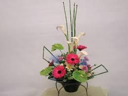 Japanese Flower Arranging Vases Japanese Ikebana Style Long Lasting Flower Arrangement For