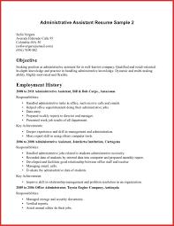 resume exles objective customer service elegant administrative assistant objective resume sle npfg online