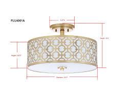 elite light fixtures flu4001a flush lighting lighting by safavieh