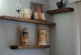 furniture modern wall decoration with wood shelf designs by
