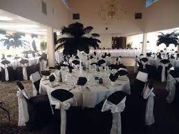 black and white table settings black table decorations for weddings