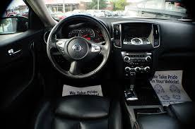 2009 Nissan Maxima White Navigation Sedan Used Car Sale