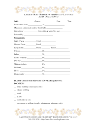 wedding planning companies wedding planner contract template weddings decorations